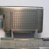 Chemical engraving